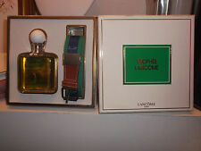 TROPHEE LANCOME COFFRET edt 100 ml - ceinture RARE VINTAGE perfume and belt