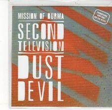 (DL179) Mission of Burma, Second Television / Dust Devil - 2012 DJ CD