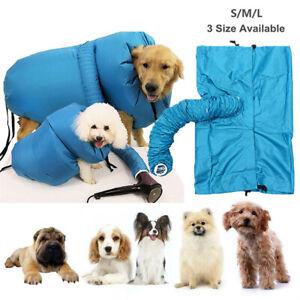 Dog Cat Dryer Accessories Coat Oxford Cloth Pet Bath Grooming Blaster Drying Bag