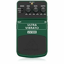 More details for behringer uv-300 ultra vibrato classic and dimensional effects of '60s and '70s