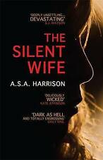 The Silent Wife, S. A. Harrison, A., New Book