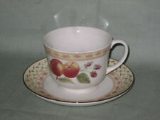Johnson Bros. Fruit Sampler  Tea Cup & Saucer