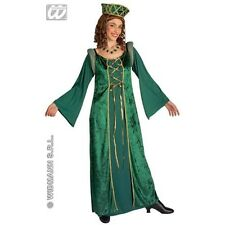 Medium Adult's Lady Eleonora Costume - Medieval Renaissance Ladies Fancy Dress