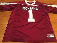 cde9f1226 Nike Montana Grizzlies College Football Jersey Youth XL NCAA