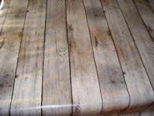 Tischdecke Meterware Wachstuch abwaschbar , Holz 1000-1