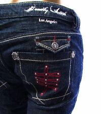 Deadly Truth Los Angeles Denim Jeans Hera Style Women's Dark Wash Size 27