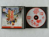 Ganbare Goemon Uchuu Kaizoku Akoging PS1 KONAMI Sony Playstation From Japan