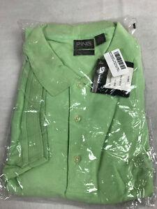 Ping Golf Polo Shirt Pistachio Green 100% Pima Cotton Mens Size 4XL NEW