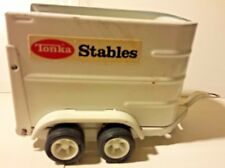 Tonka Stables Horse Trailer 52690 Farm Pressed Steel Toy