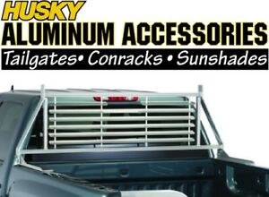 Husky 22160 Aluminum Rear Window Headache Rack 07-17 Chevy Silverado 04-14 F-150