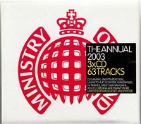 The Annual 2003 by Various Artists (CD, Nov-2002, Ministry of Sound) 3CD