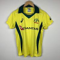Cricket Australia Kids Jersey Top Sz 12 Short Sleeve Polo Asics Official Product