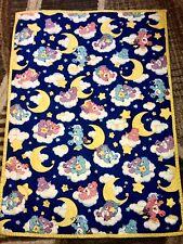 Vintage Care Bear Toddler / Crib Blanket