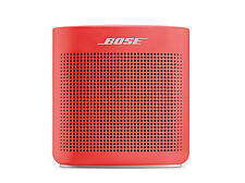 Bose Soundlink Color II Bluetooth Speaker for your mobile devices, Coral Red
