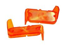 1967 Chevrolet Chevelle & El Camino Parking Lamp Lens - Pair New Dii