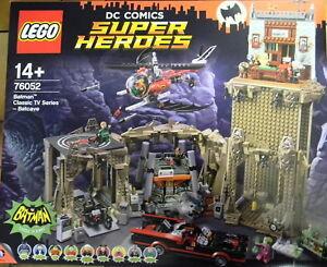 """LEGO® 76052 DC Comics Batman™ – Bathöle """"NEU & ORIGINAL VERPACKT"""" !!!!!!!!!!!"""