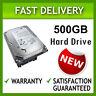 "NEW SEAGATE 500GB SATA INTERNAL DESKTOP 3.5"" PC HDD HARD DRIVE CCTV MAC DVR NVR"