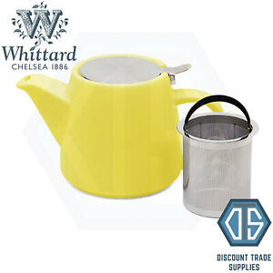 Whittard of Chelsea Pao Teapot with Infuser Various Colours available Brew for 2
