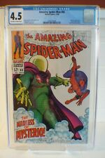 Amazing Spider-man #66 CGC 4.5 OW/W pages Mysterio appearance