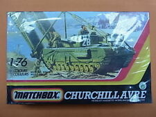 matchbox 1/76 PK177 Churchill A.V.R.E DIORAMA