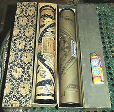 2 ANCIEN ROULEAU PERFORE A MUSIQUE POUR PIANOLA C1920 EDI SALABERT M .CHEVALIER