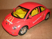 1/18 Scale 1999 Volkswagen Beetle Diecast Model Car - McDonalds Matchbox VW Bug