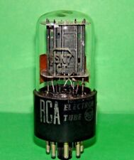 RCA 6SN7 GT Black Plates Vacuum Tube 1954 Very Strong Balanced 2500|2640