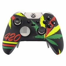 Weeds Soft Touch Grip Faceplates Upper Case Shell for Xbox One Elite Controller