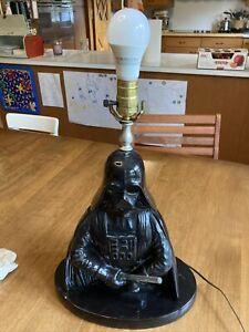 Darth Vader Lamp Light Saber Star Ward Cracked Base Underneath