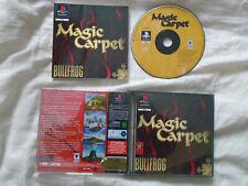 TAPIS MAGIQUE PS1 (complet) BULLFROG RARE Sony Playstation black label