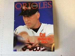 Orioles Magazine-1999- 102 pages, Cal Ripken, Not Scored, 3rd Edition- NM