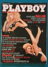 Dutch Playboy Magazine 1984-03 Daphne Walters, Landers Sisters