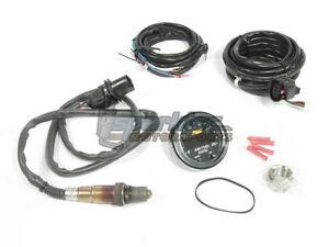 AEM X-Series Wideband UEGO O2 02 Air/Fuel Ratio Sensor Controller Gauge Kit NEW