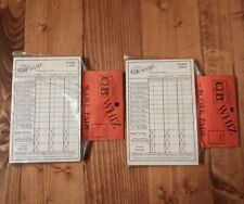 Truckers CB Whiz Score Cards Game Replacement Vintage 1976 Rae-Tif Corp Kentwood