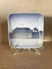 B & G Bing & Grondahl Signed Denmark Amalienborg Palace Scene Plate/Dish
