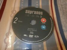 The Sopranos Season 3 Disc 2 Episodes 5 - 7 Replacement