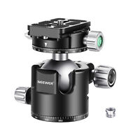 Neewer Ball Head Panoramic Camera Tripod Head with Quick Release Plate