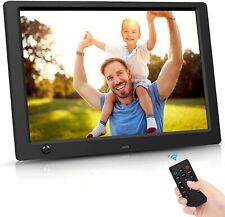 10 Inch Digital Picture Frame - HD IPS Display, Digital Photo Frame with 1080P V