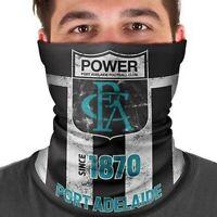 AFL Port Adelaide Power Fishing Multi Scarf - Face Shield - Mask - Bandana