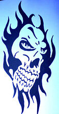 high detail airbrush stencil  skull 77 FREE UK  POSTAGE
