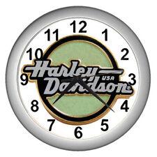 New Harley Davidson Logo Emblem Wall clock