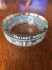 "New ListingCaesars Palace Casino Ash Tray Ashtray 3.5"" Vintage Round Glass"