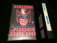 JUDGE DREDD AUSTRALIAN VHS VIDEO SYLVESTER STALLONE THE CURE