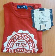 Abbigliamento moda BAMBINO 24 M CR68 Maglia t-shirt rosso OCCASIONE ITALIA NUOVO