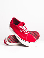 Vans Dinamo NI New Issue Tango Red/White Men's Shoes Size 7.5