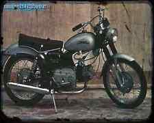 Aermacchi_Ala_Blu_250 A4 Metal Sign Motorbike Vintage Aged