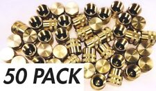 50 Pack 1/4 inch Flare Caps Freon Access Port Covers R22 410A Refrigerant Safety