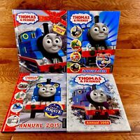 Thomas The Tank Engine & Friends 4 x Book Bundle Annuals Activities Reading