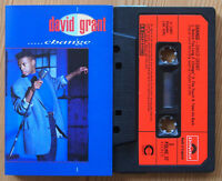 DAVID GRANT - CHANGE (POLYDOR POLHC37) 1987 UK CASSETTE TAPE EX CONDITION