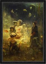 Sadko Ilja Jefimowitsch Repin Nacht Fische Meer Meerjungfrauen Ball Faks_B 02303